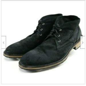 Andrew Marc Men's Chukka Boots Size 13 Suede Black